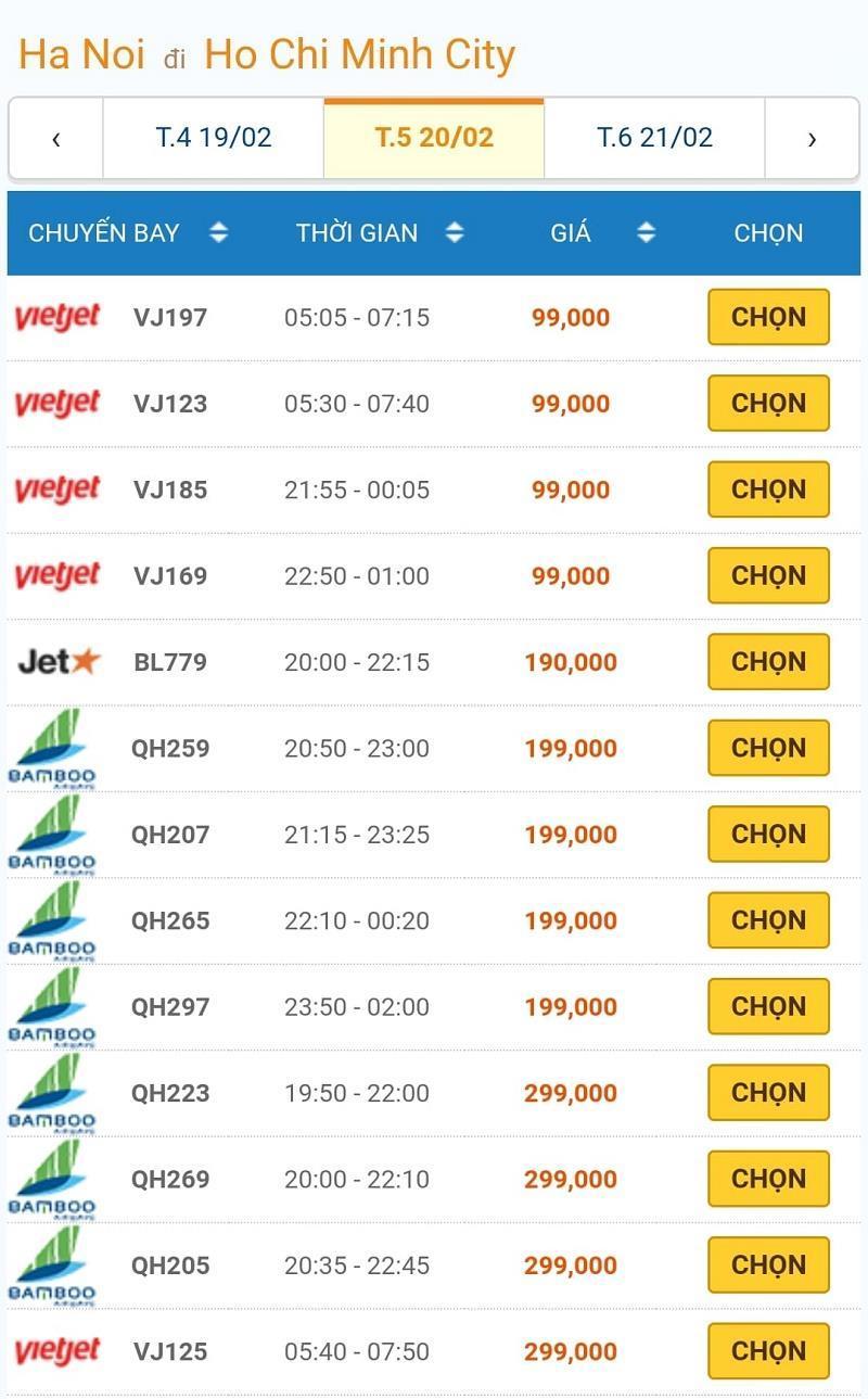 Giá vé máy bay đồng loạt giảm kỷ lục, Hà Nội - TP.HCM chỉ còn 199.000đ 2