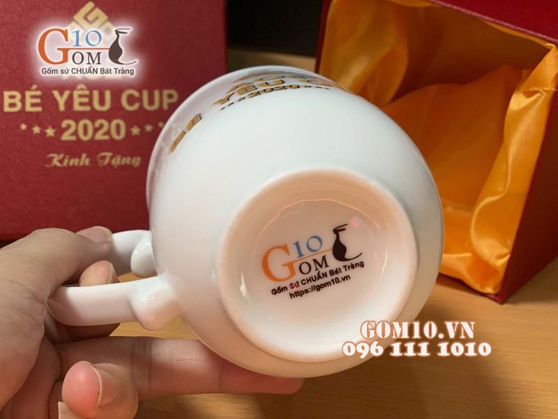 Gốm 10 - Nhà tài trợ đồng hành với Giải đấu AOE Bé Yêu CUP 4