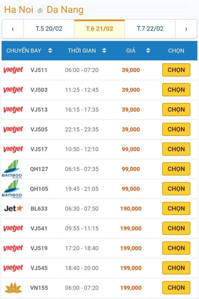 Giá vé máy bay đồng loạt giảm kỷ lục, Hà Nội - TP.HCM chỉ còn 199.000đ 3