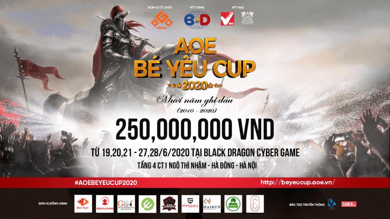 Gốm 10 - Nhà tài trợ đồng hành với Giải đấu AOE Bé Yêu CUP 1